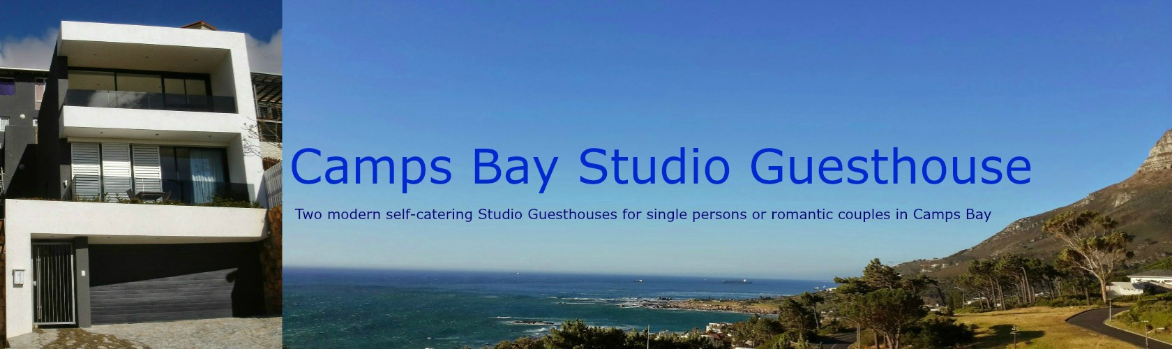 Camps Bay studio guesthouse logo